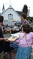 Cathlamet Downhill Corral Longboard Contest- local kids trying to win prize.jpg