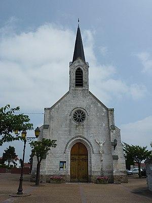 Cauchy-à-la-Tour - The church of Cauchy-à-la-Tour