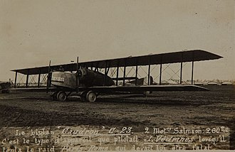 Caudron C.23 - Image: Caudron C.23 LFQ2