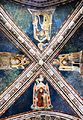 Ceiling of the church in Monastero del Sacro Speco (Subiaco) 2.jpg