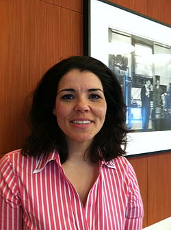 Celeste Headlee, co-host of The Takeaway, April, 2012.jpg
