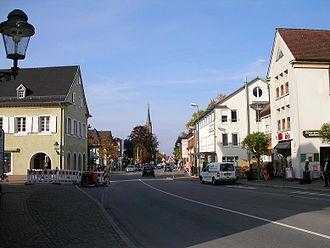 Müllheim - Image: Central Muellheim