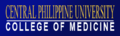 Central Philippine University College of Medicine Banner (Official).png