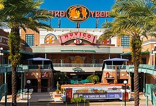 Ybor City Neighborhood in Hillsborough County, Florida, United States