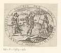 Cephalus en Procris Sujets divers empruntés a la mythologie (serietitel), RP-P-1964-461.jpg