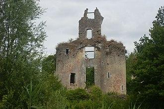 Château-la-Vallière - Ruins of the chateau of Vaujours