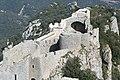 Château de Peyrepertuse - Duilhac-sous-Peyrepertuse - Aude - France - Mérimée PA00102673 (13).jpg