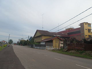 Chaah Town and Mukim in Johor, Malaysia