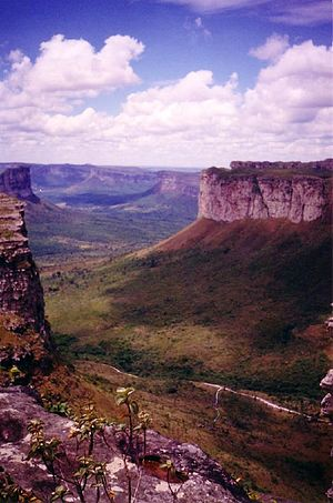 Chapada - A view of Chapada Diamantina National Park in Bahia, Brazil