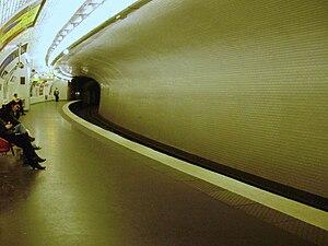 Chardon Lagache (Paris Métro) - Image: Chardon Lagache métro 02