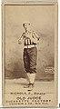 "Charles Augustus ""Kid"" Nichols, Pitcher, Omaha Omahogs- Lambs, from the Old Judge series (N172) for Old Judge Cigarettes MET DP846335.jpg"