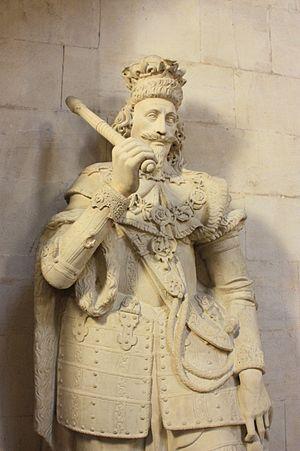 Nicholas Stone - Charles I by Nicholas Stone, Guildhall, London