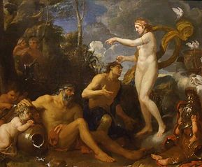 The deification of Aeneas