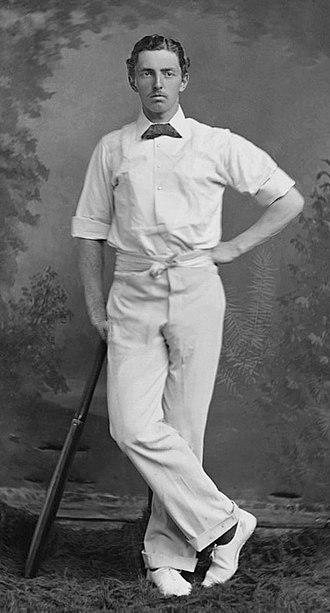 Charles Studd - Image: Charles Studd c 1882
