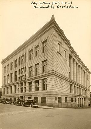 Charlestown High School - Image: Charlestown High School 0403002028a City of Boston Archives