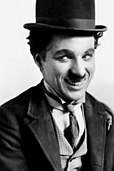 "Charlie Chaplin as ""The Tramp"""