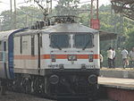 Charminar Express with WAP7 loco
