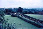 Chartwell - Rose Walk and Marycot (1970).JPG