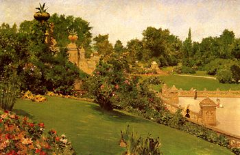 Chase William Merritt Terrace at the Mall 1890.jpg