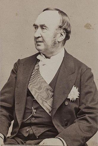 Prosper de Chasseloup-Laubat - Prosper de Chasseloup-Laubat in 1862.