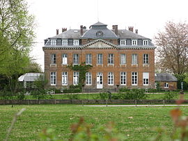 The chateau of Bois-Guilbert