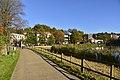 Chemin au soleil le long des étangs de Boitfort (22738183670).jpg