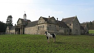 Chesters (Humshaugh) - Stable block, across the road (B6318) from the house.