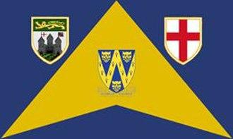 Chetton - A early development of the parish flag
