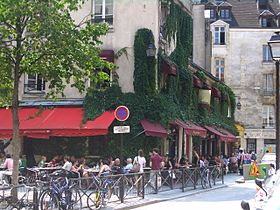 Cafe Latino Rue De Birague Paris