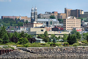 Downtown Chicoutimi