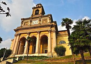 Mendrisio - Classicist Church of SS. Cosma e Damiano