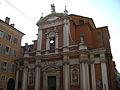Chiesa di San Giorgio a Modena vista dal basso.jpg