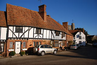 Chilham village in the United Kingdom