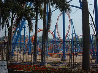 10 Inversion Roller Coaster - Image: Chimelongparadise 1