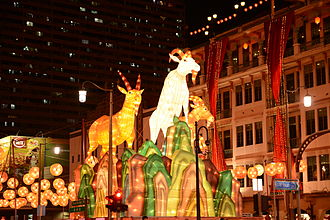 Chinese New Year - Chinese New Year in Singapore Chinatown.