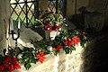 Christmas decorations, Throckmorton Church - geograph.org.uk - 1088425.jpg