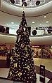 Christmas tree in Bucharest Mega Mall during Christmas 2020.jpg