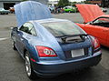 Chrysler Crossfire fastback blue rear.jpg