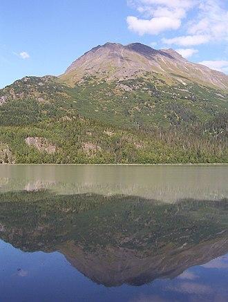 Chugach Mountains - A peak in the Chugach Mountains