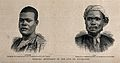 Chumah and Susah, David Livingstone's servants. Etching. Wellcome V0018838.jpg