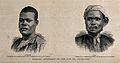 Chumah and Susah, David Livingstone's servants. Etching. Wellcome V0018838.jpg