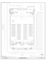 Church Floor Plan - Gesu Catholic Church, 118 Northeast Second Street, Miami, Miami-Dade County, FL HABS FL-584 (sheet 3 of 10).png