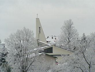 Nevoľné - Church in Nevoľné