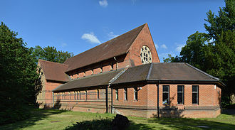 Binfield - St Mark's Church was built in 1867 and is a Grade II listed building.