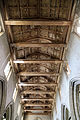 Church of St Mary Hatfield Broad Oak Essex England - nave ceiling looking west.jpg