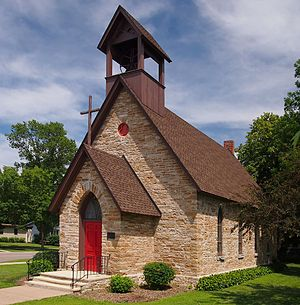Church of the Redeemer (Cannon Falls, Minnesota) - The church in 2013