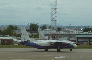 CityLine Hungary - Antonov AN26B in Belgrade
