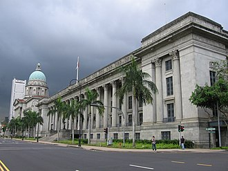 National Gallery Singapore - Former City Hall and Supreme Court Building