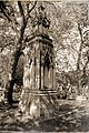 City of London Cemetery All Hallows Bread Street + St John the Evangelist Watling Street reburials monument 4 DXO FilmPack Polaroid 664 Old Postcard preset.jpg