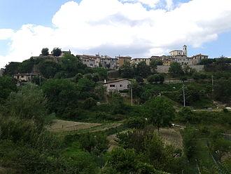 Civita d'Antino - Image: Civita dantino valleroveto